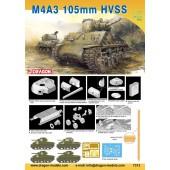 Dragon M4A3 105mm Sherman HVSS