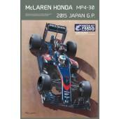 Ebbro McLaren Honda MP4-30 2015 Japan G.P.