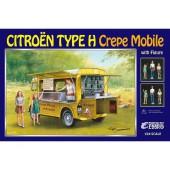 Ebbro Citroen H Crepe mobile m. figuren