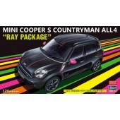 Hasegawa Mini Cooper Counrtyman All4 Ray Package