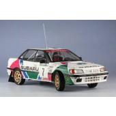 Hasegawa Subaru Legacy RS Sweden Rally 1992