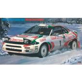 Hasegawa Toyota Celica Turbo 4wd RAC Sieger 1993