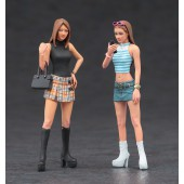 Hasegawa Platform Boots Girls Figure 2