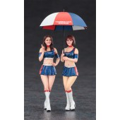 Hasegawa Paddock Girls Figure 2
