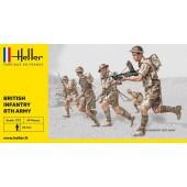 Heller Infantrie 8th Britain
