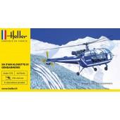 Heller SA316B Alouette III Gendarmerie