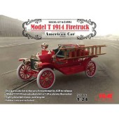ICM Model T 1914 Firetruck American Car