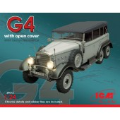 ICM Typ G4 Soft Top WWII German Personnel Car