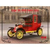 ICM Type AG 1910 Paris Taxi