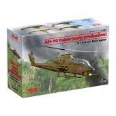 ICM AH-1G Cobra (early production), US Attack Helicopter (100% new molds)