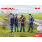 ICM WWII RAF Cadets (100% new molds)