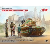 ICM FCM 36 with French Tank Crew