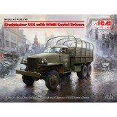 ICM Studebaker US6 with WWII Soviet Drivers