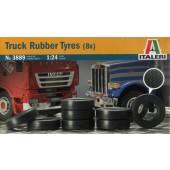Italeri Truck Rubber Tyres (8x)