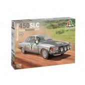 Italeri Mercedes-Benz 450 SL 1979 Rallye Bandama