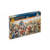 Italeri French Warriors - 100 Years War