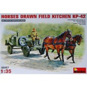 MiniArt Horses Drawn Field Kitchen KP-42