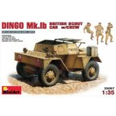 MiniArt British Scout Car Dingo Mk.1B with Crew