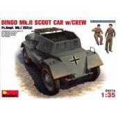MiniArt Dingo Mk.II Scout Car with Crew