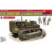 MiniArt U.S. Tractor w/ Towing Winch and Crew