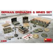 MiniArt German Grenades and Mines Set