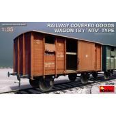 MiniArt Railway Covered Goods Wagon