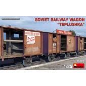 MiniArt Soviet Railway Wagon Teplushka