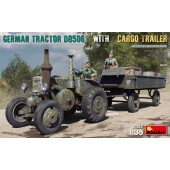 MiniArt German Tractor D8506 with Trailer