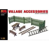 MiniArt Village Accessoires