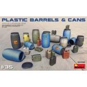 MiniArt Plastic Barrels and Cans