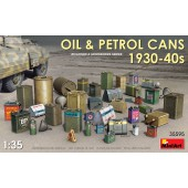 MiniArt Oil and Petrol Cans 1930s-1940s