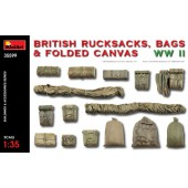 MiniArt British Rucksack, Bags and Folded Canvas