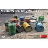 MiniArt Modern Oil Drums 200L