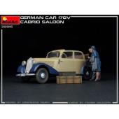 MiniArt German Car Typ 170V Cabrio Saloon
