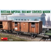 MiniArt Russian Imperial Railway Covered Wagon