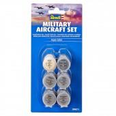 Aqua verf setje voor Militair vliegtuig