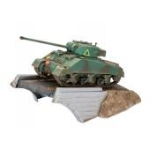 Geschenkset First Diorama Set - Sherman Firefly