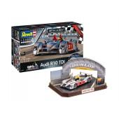 Geschenkset Audi R10 TDI Le Mans + 3D Puzzle Diorama