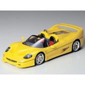 Tamiya Ferrari F50 gelbe Straßenvers