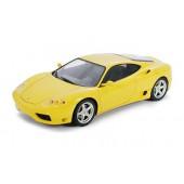 Tamiya Ferrari 360 Modena Gelb Straßenversion