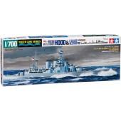 Tamiya Hood & E Class Destroyer