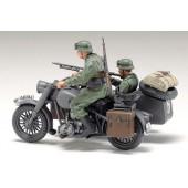 Tamiya Motorrad mit Beiwagen