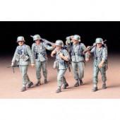 Tamiya Maschinengeweer-Crew duits