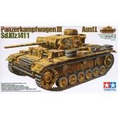 Tamiya Duitse tank. Kpfw. III Ausf. L