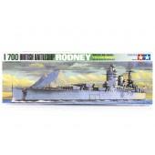 Tamiya British Battleship Rodney