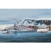 Trumpeter German Tirpitz Battleship
