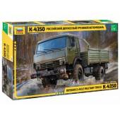 Zvezda Russian 2-Axle Military Truck K-4