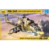 Zvezda MIL MI-24P Russian Attack Helicopter