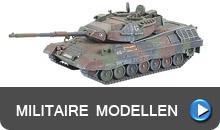 Tanks, pantservoertuigen, figuren en nog veel meer